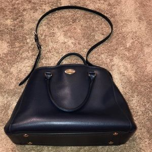Midnight Blue Coach Purse